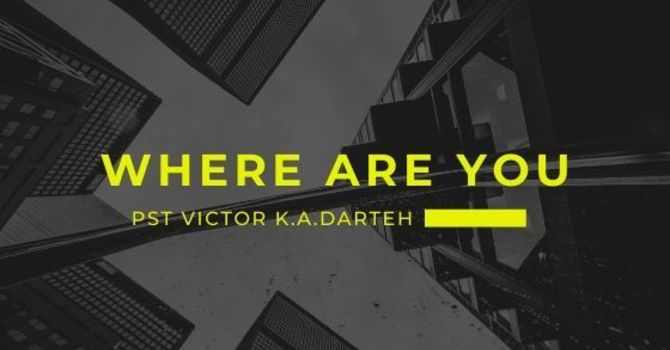 Where Are You? image
