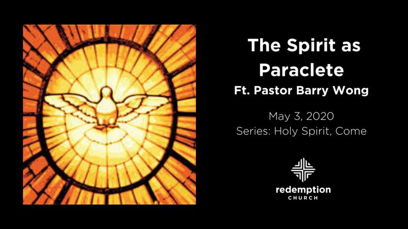 The Spirit As Paraclete