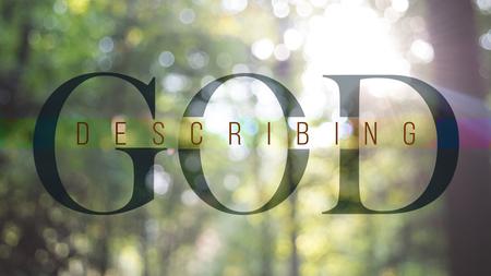 Describing God
