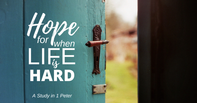 Hope Through Holiness