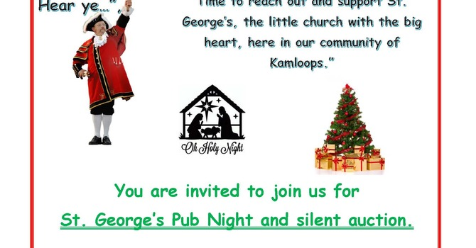 St. George's PUB NIGHT & SILENT AUCTION image