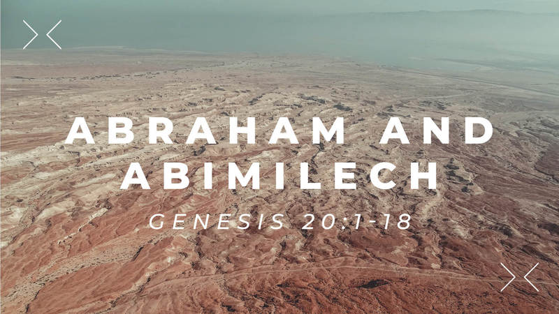 Abraham and Abimilech