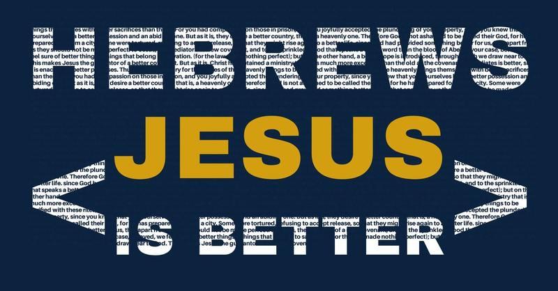 Jesus is a BETTER PURPOSE