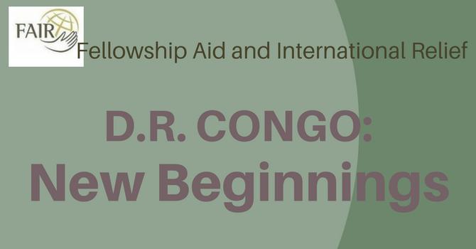 D.R. Congo: New Beginnings image