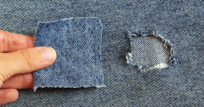 How To Repair Torn Pants