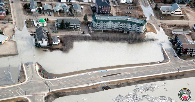 Flooding affects parishes in Athabasca diocese image