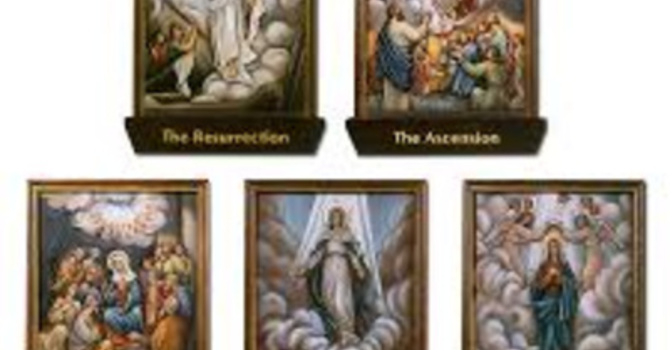 Do you pray the Glorious Mysteries? image