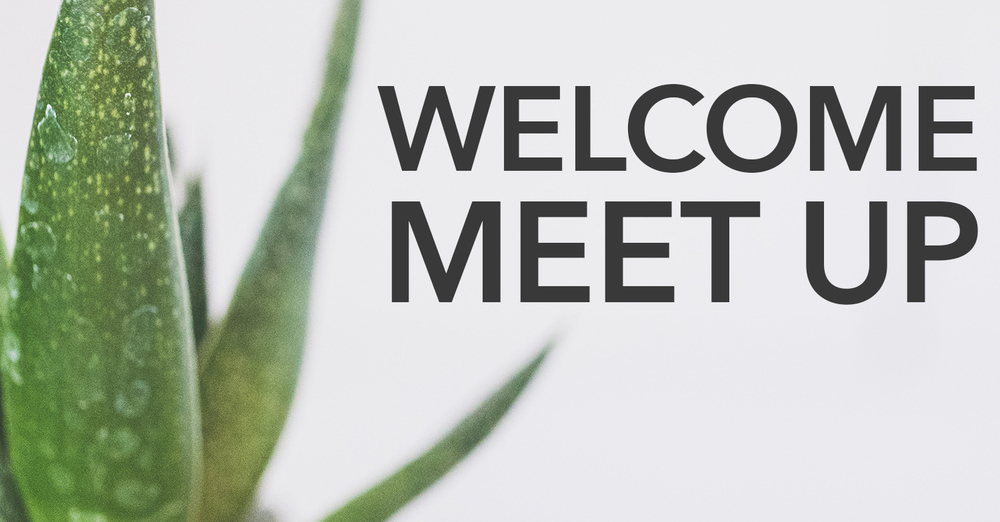 Welcome Meet Up Online