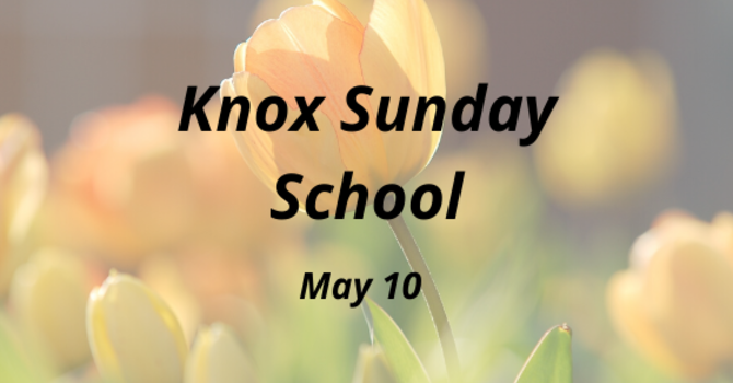 Knox Sunday School image