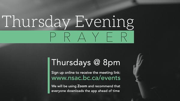 Thursday Evening Prayer