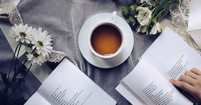 Coffee Hour Poetry image
