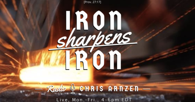 Pastor Shishko interview on Iron Sharpens Iron radio program image