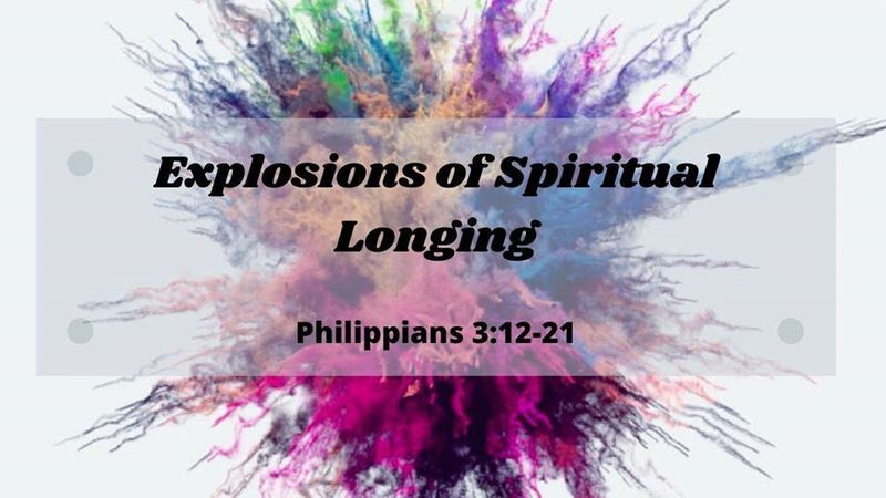 Explosions of Spiritual Longing