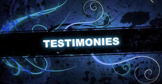 Healing Testimonies  image