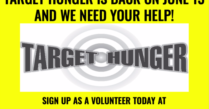 Target Hunger Food Drive