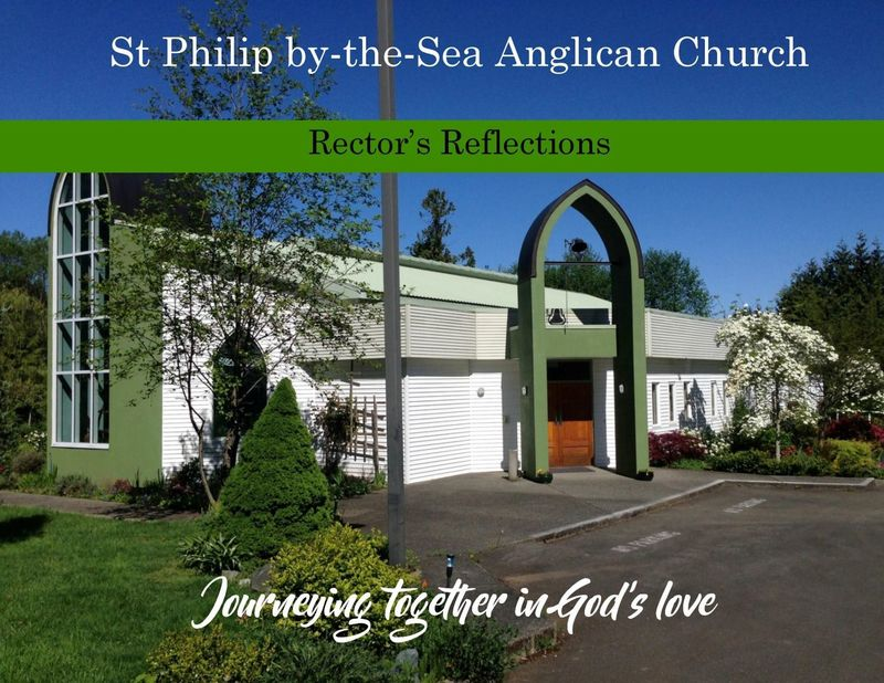 17 May (Easter 6) - Rector's Reflections