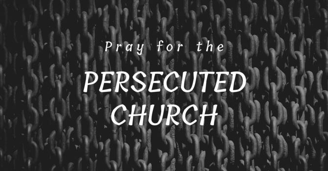 Praying for the Persecuted image