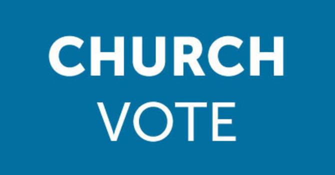 Church Wide Vote