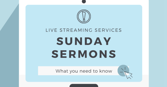 Sermon Streaming image