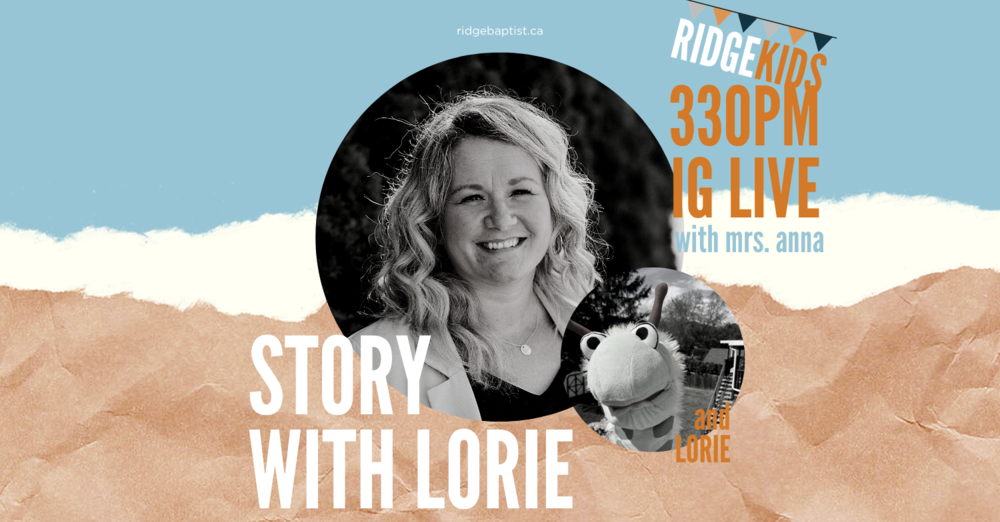 Story with Lorie | Tuesday IG LIVE