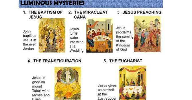 Living Rosary-The Luminous Mysteries image