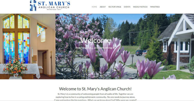 St Mary, Nanoose Bay launches new website image