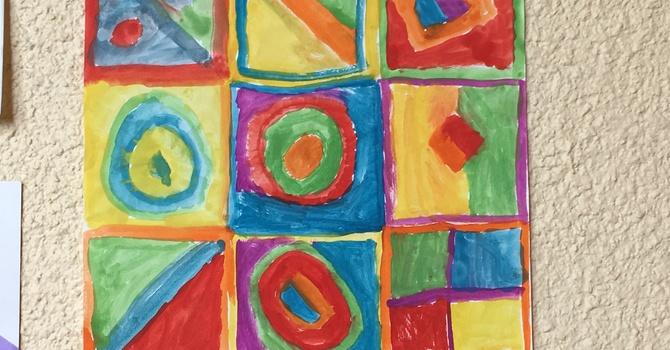 Children's Art Up for Summer image