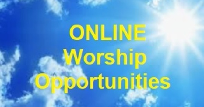 Online Worship Opportunities image