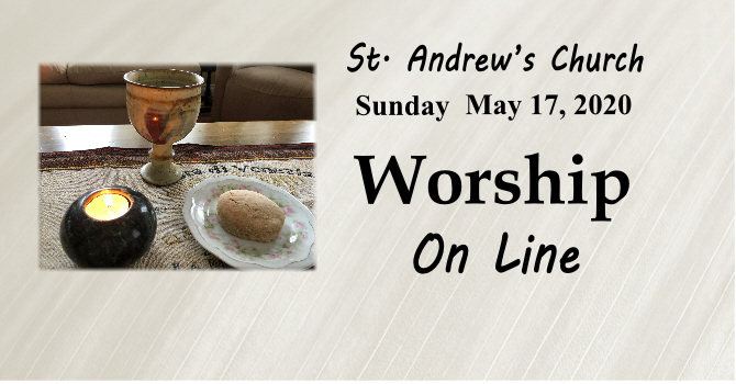 May 17, 2020, On Line Sunday Service image