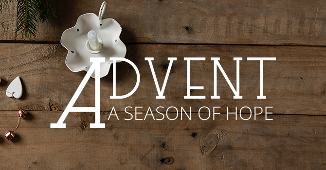 Our Advent Theme for 2019 image