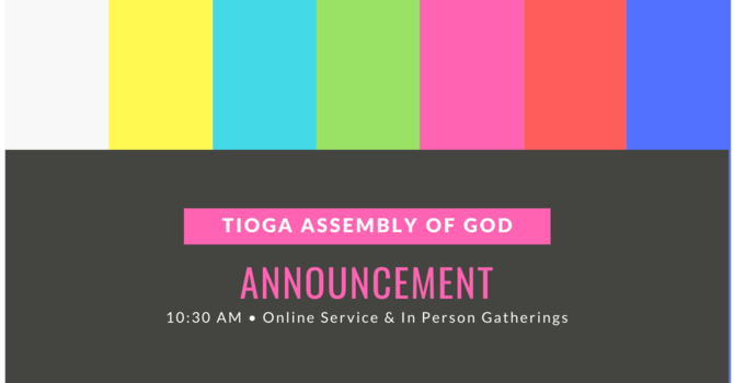 Announcements image