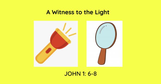 John 1:6 - 8 image