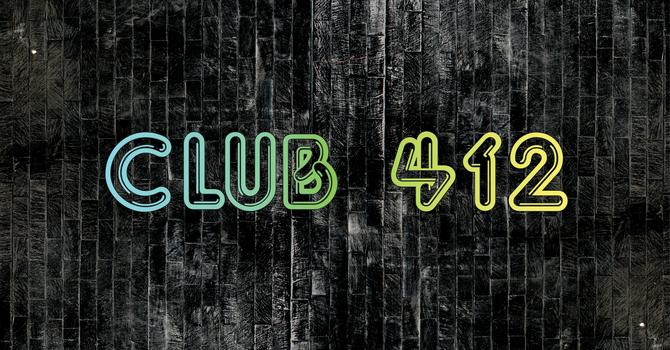Club 412 - Middle School Youth Grade 6-8