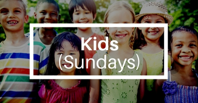 Sunday Kids Programs