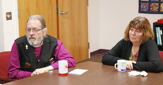 National Indigenous Bishop Visits Edmonton image