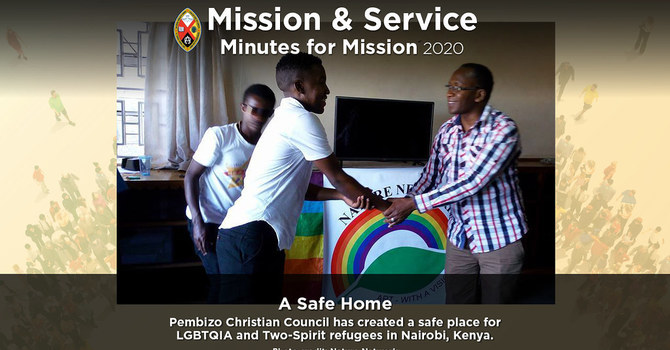 Minute for Mission: A Safe Home image