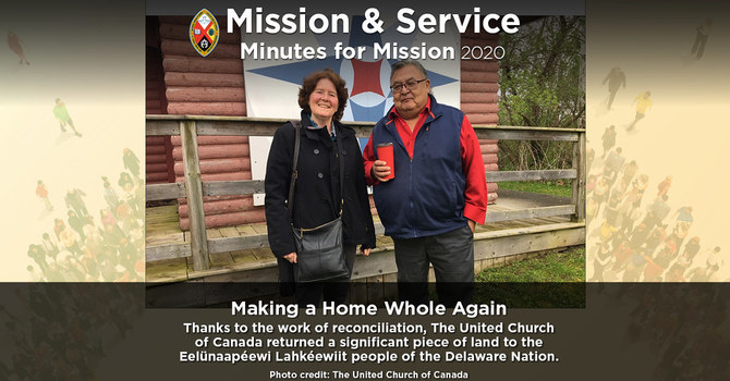 Minute for Mission: Making a Home Whole Again image