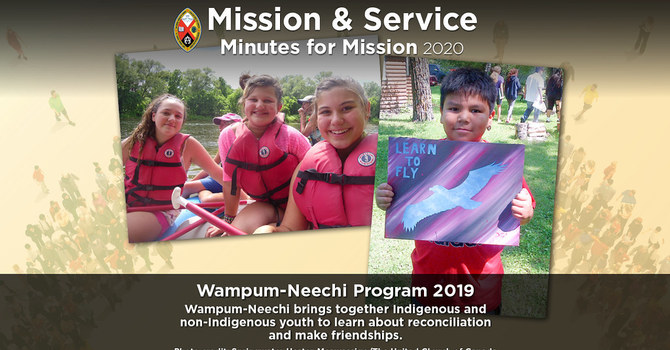 Minute for Mission: Wampum-Neechi Program 2019 image