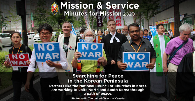 Minute for Mission: Searching for Peace in the Korean Peninsula image