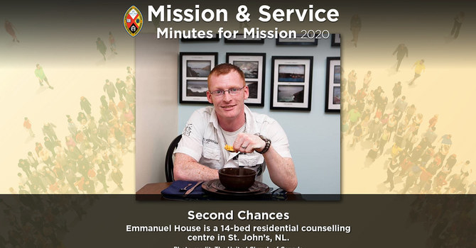 Minute for Mission: Second Chances image
