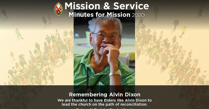 Minute for Mission: Remembering Alvin Dixon image