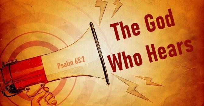 The God Who Hears image