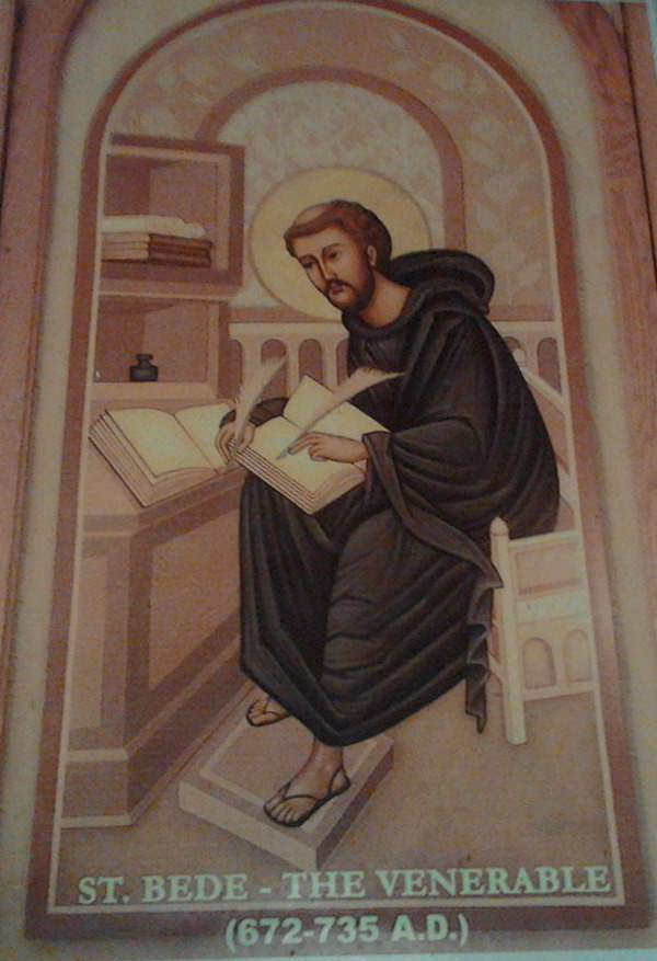 St. Bede, the Venerable,  May 25 - Commemoration