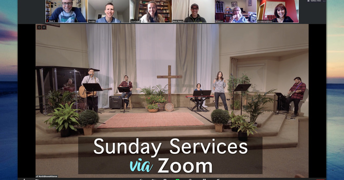 Sunday Services via Zoom