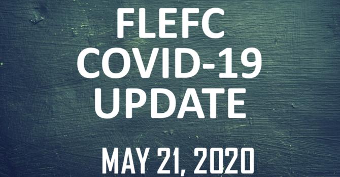 FLEFC COVID-19 Update: May 21