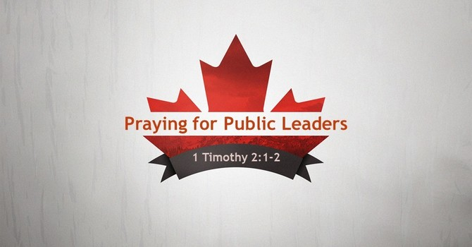 Praying for Public Leaders