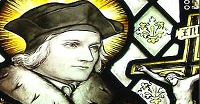 Saint of the Week: Thomas More   image