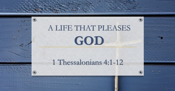 A Life That Pleases God
