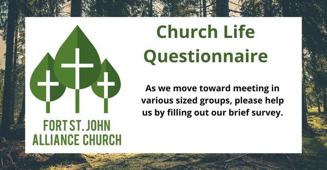 Church Life Questionnaire