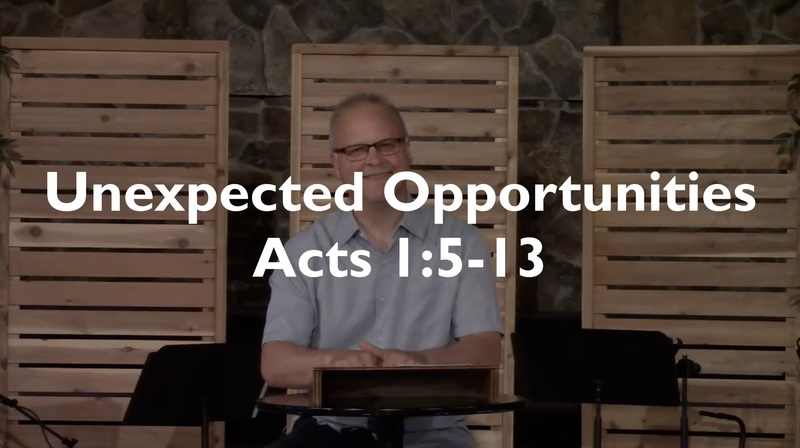 Unexpected Opportunities